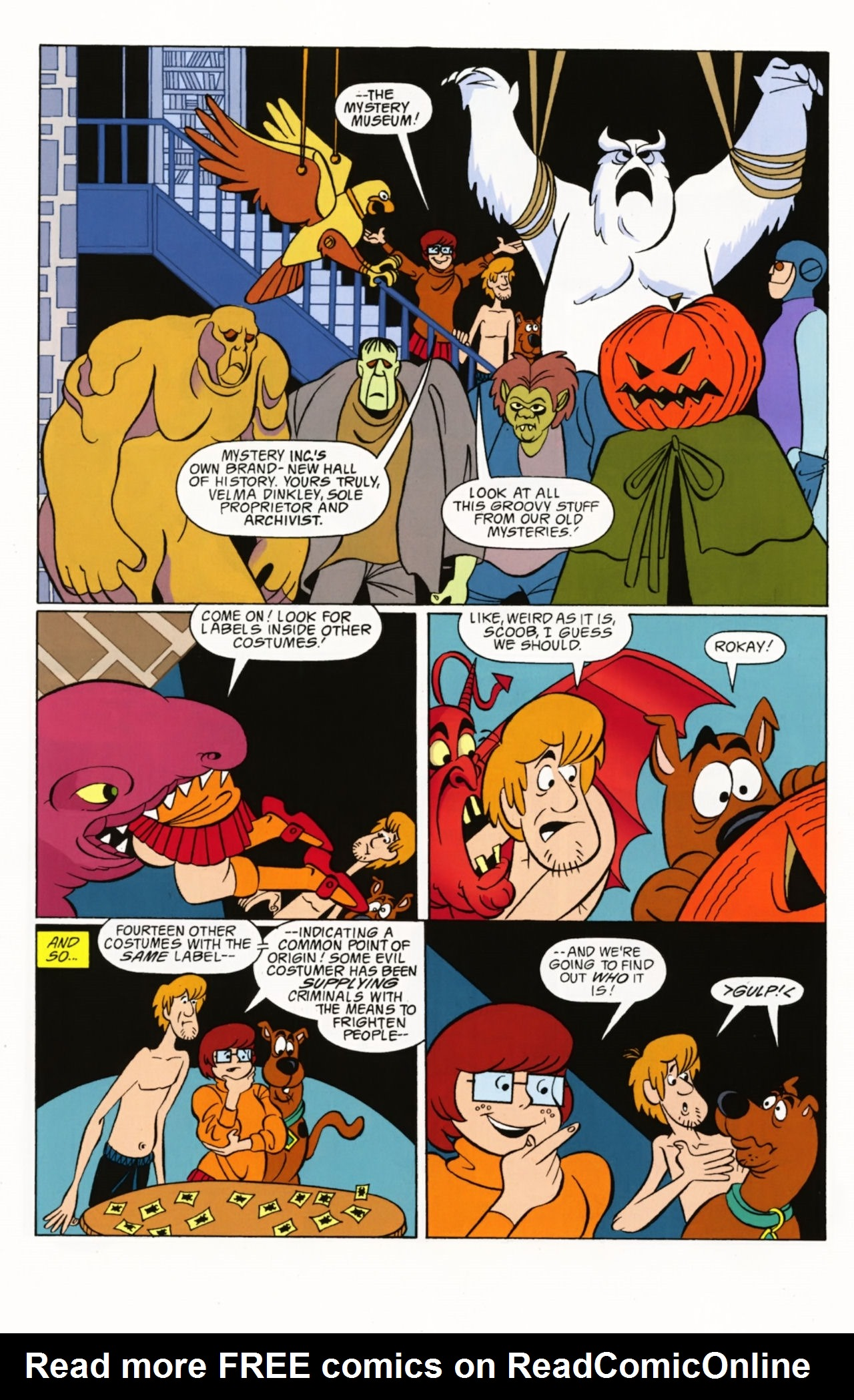 Read online Scooby-Doo: Where Are You? comic -  Issue #2 - 21