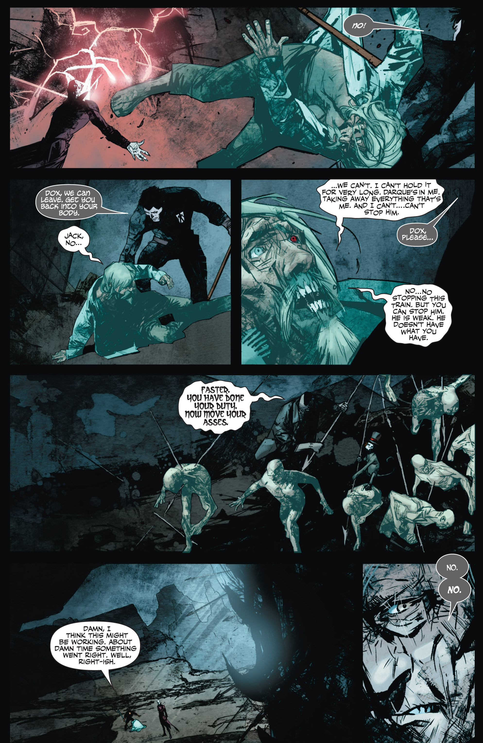 Read online Shadowman (2012) comic -  Issue #9 - 18