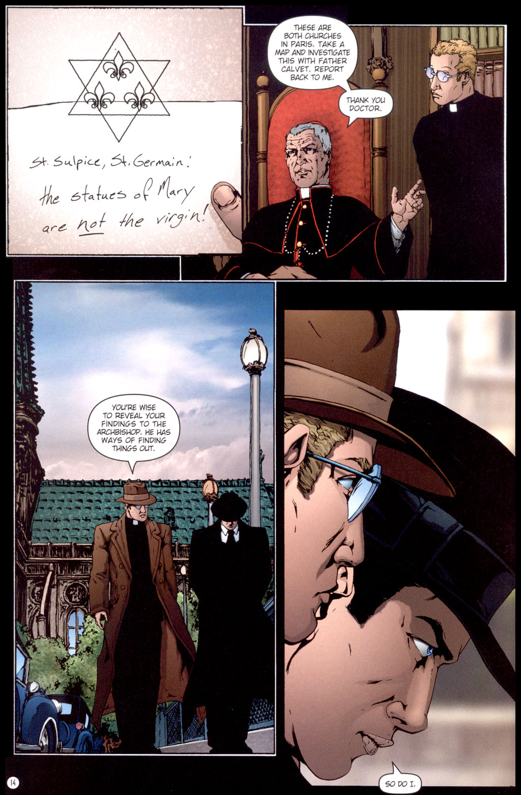Read online Rex Mundi comic -  Issue #13 - 16
