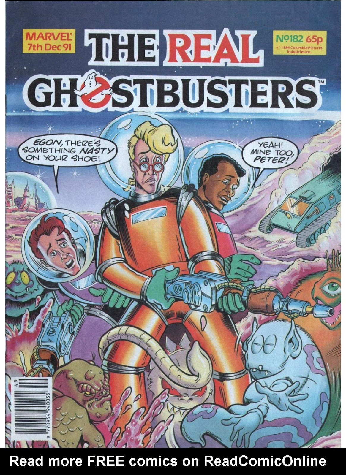 The Real Ghostbusters 182 Page 1