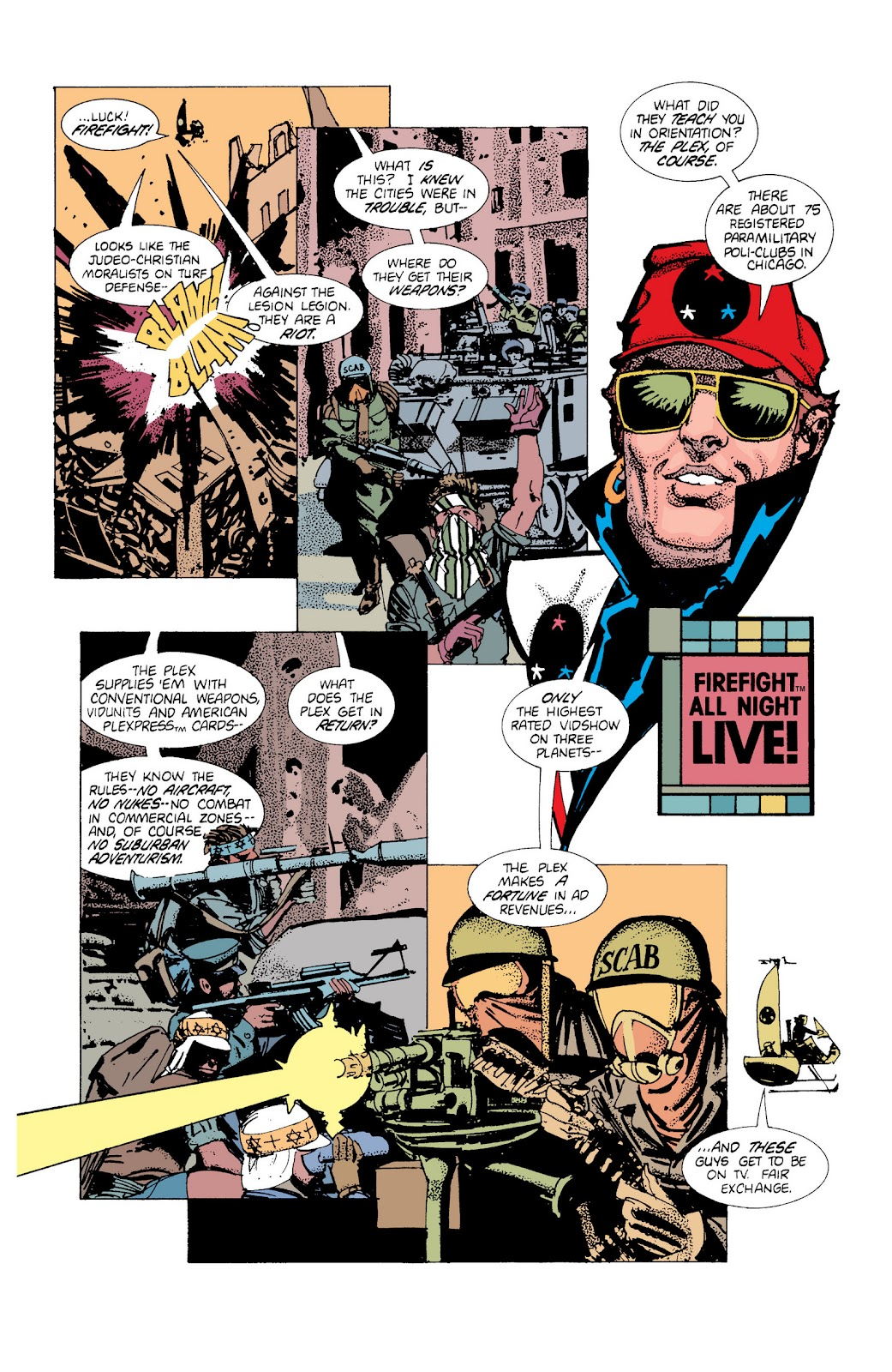 American Flagg! issue Definitive Collection (Part 1) - Page 36