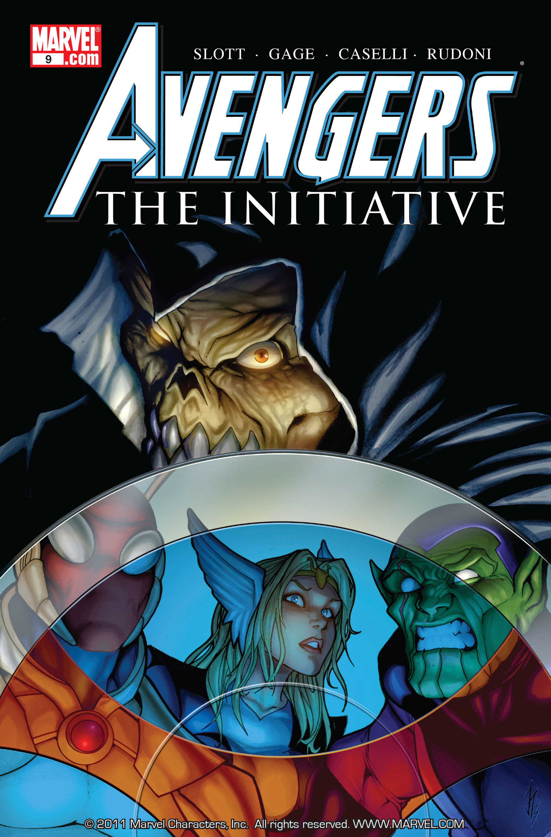 Avengers: The Initiative 9 Page 1