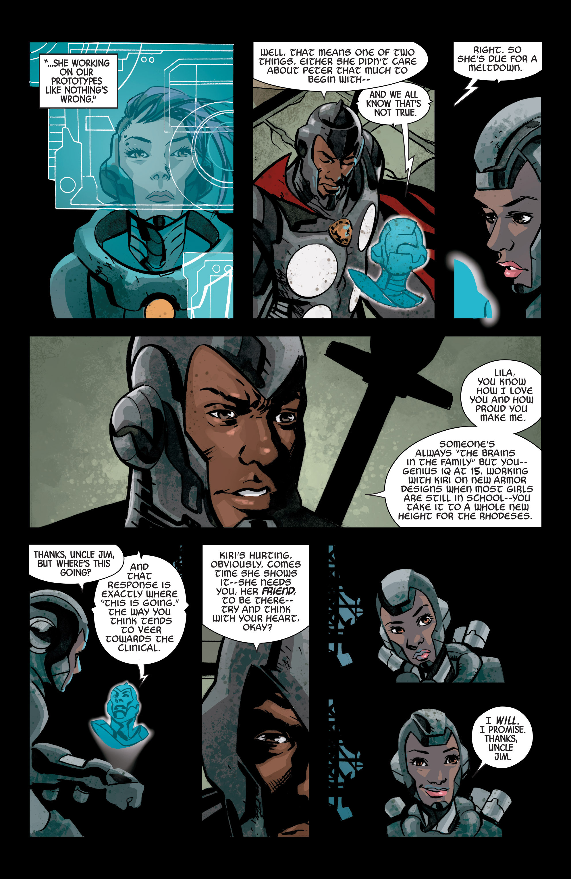 Read online Armor Wars comic -  Issue #2 - 10