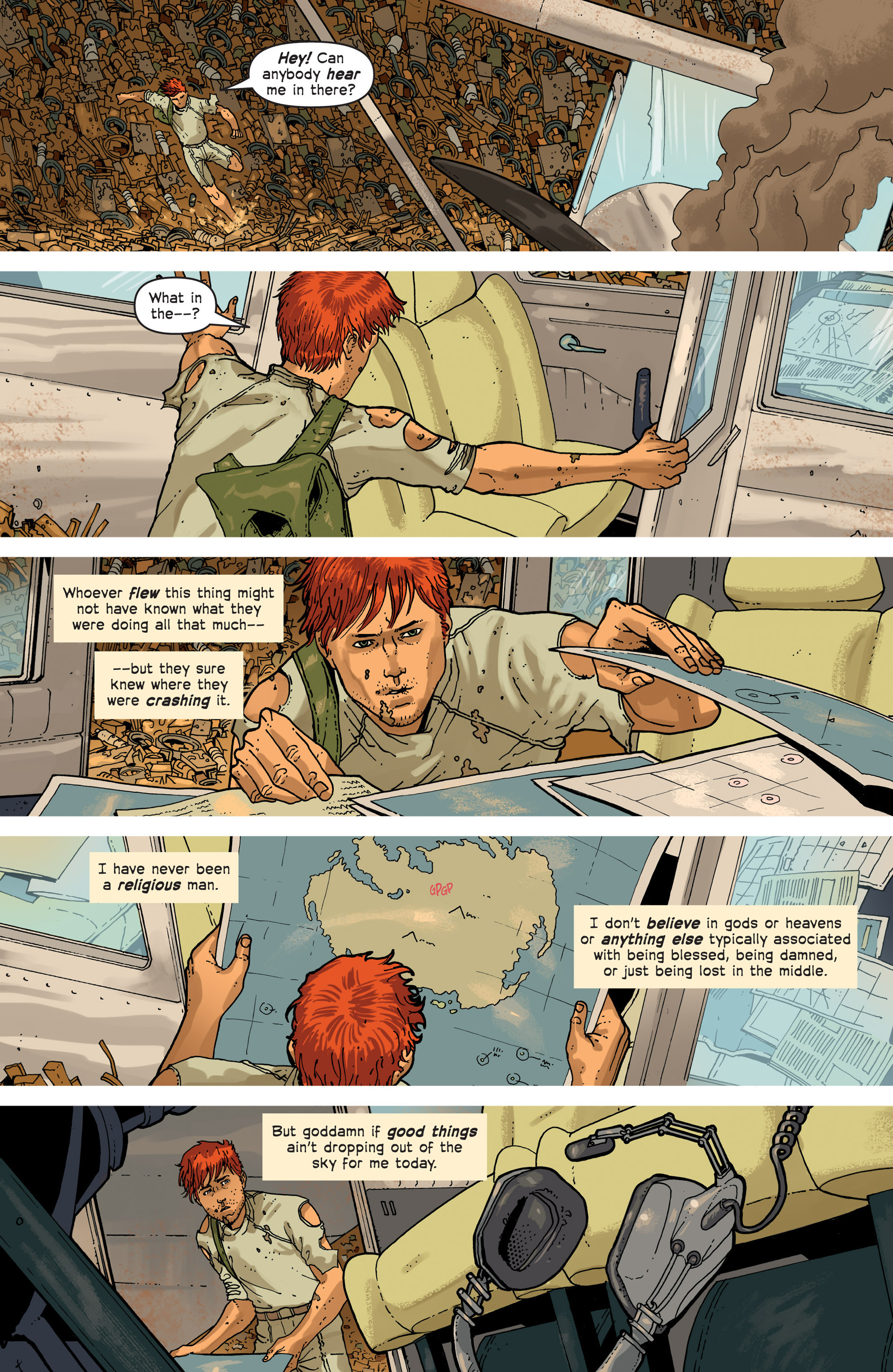 Read online Great Pacific comic -  Issue #3 - 15