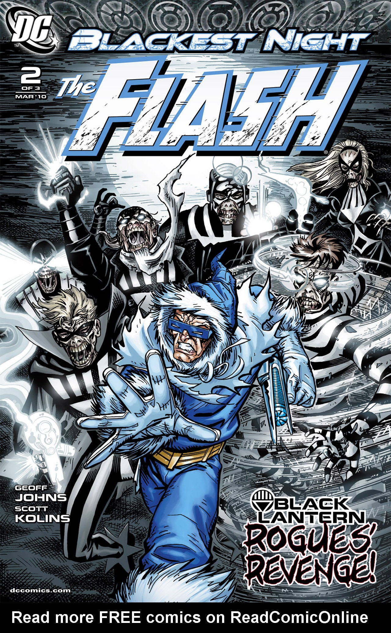 Blackest Night: The Flash 2 Page 1