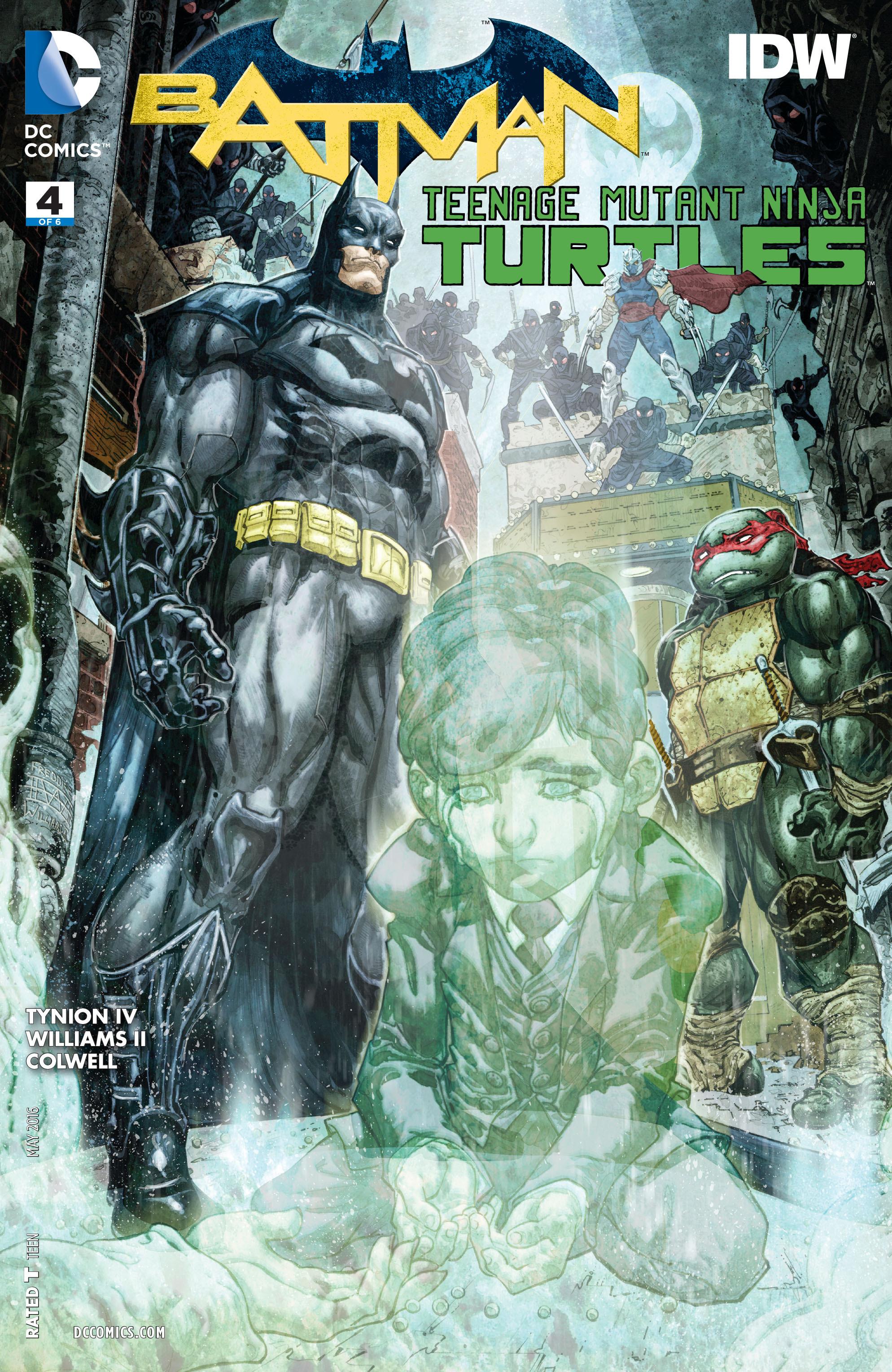 Batman/Teenage Mutant Ninja Turtles 4 Page 1