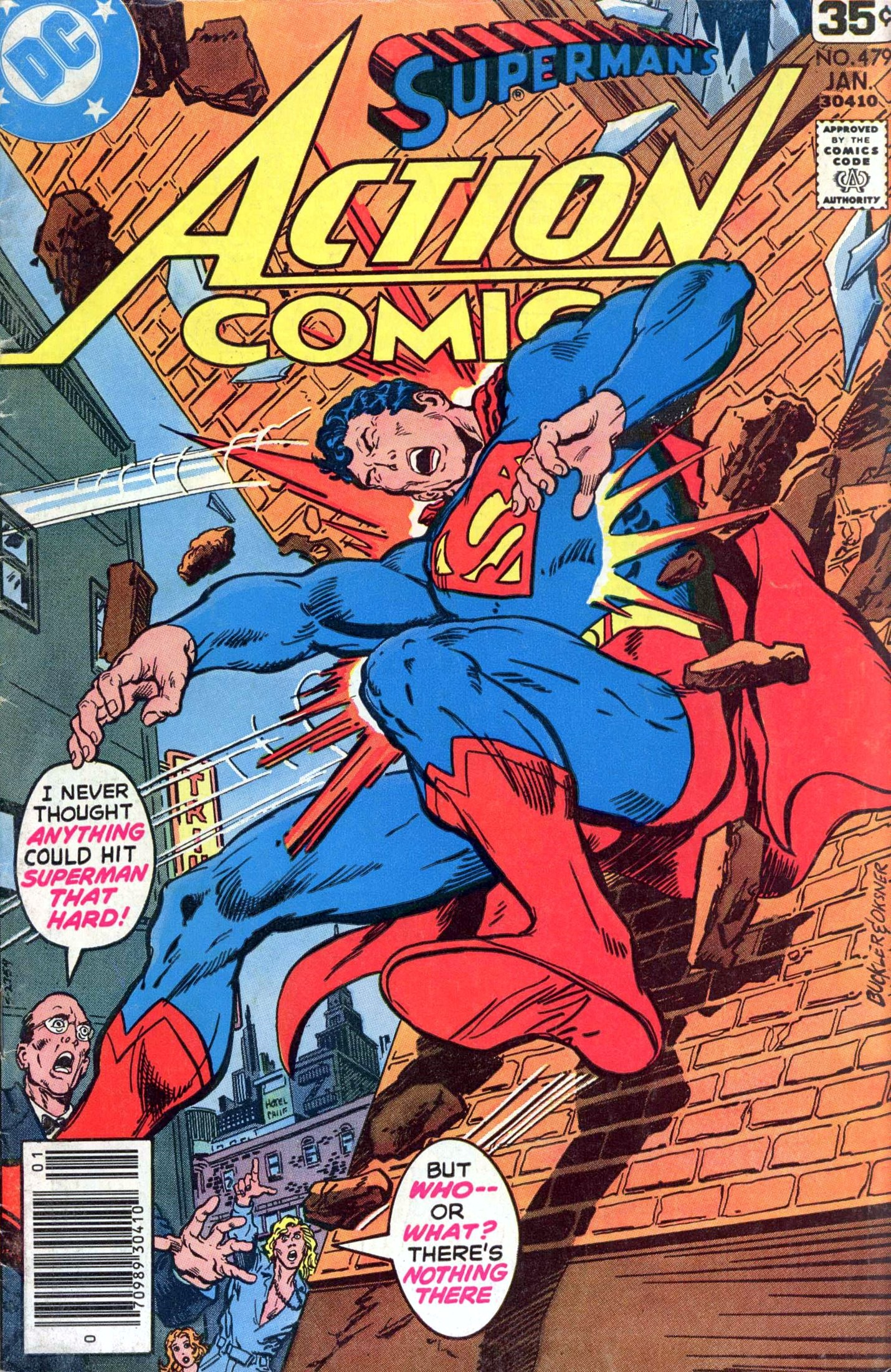 Read online Action Comics (1938) comic -  Issue #479 - 1