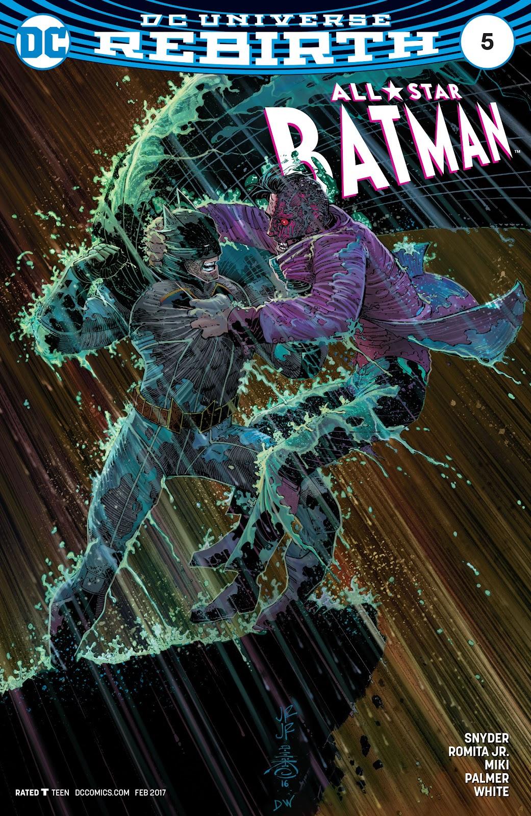 All-Star Batman 5 Page 1