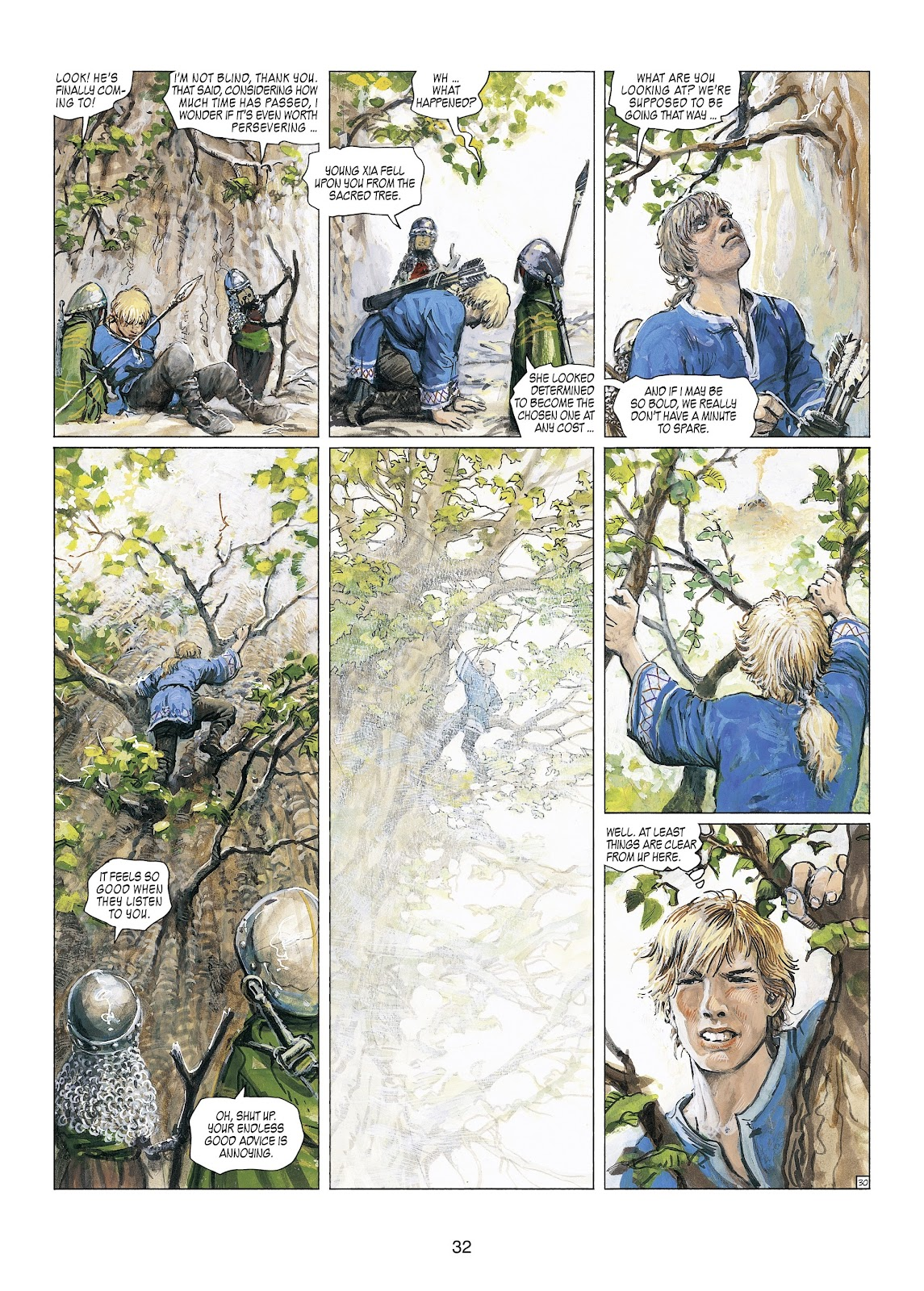 Read online Thorgal comic -  Issue #23 - 34