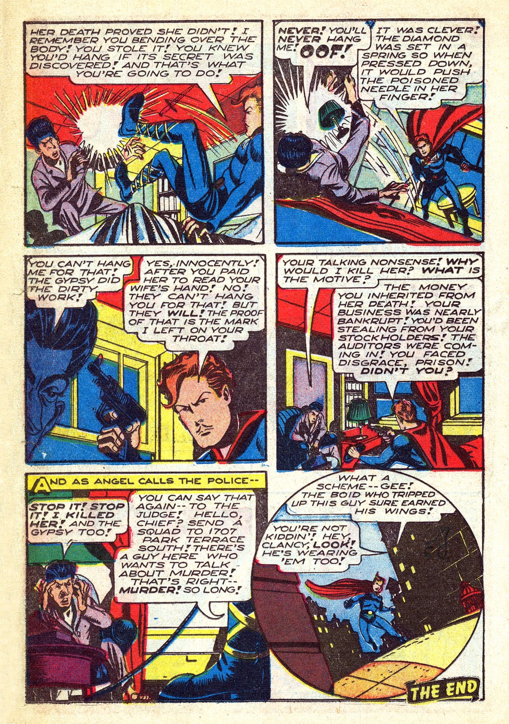 Read online Mystic Comics (1944) comic -  Issue #3 - 18
