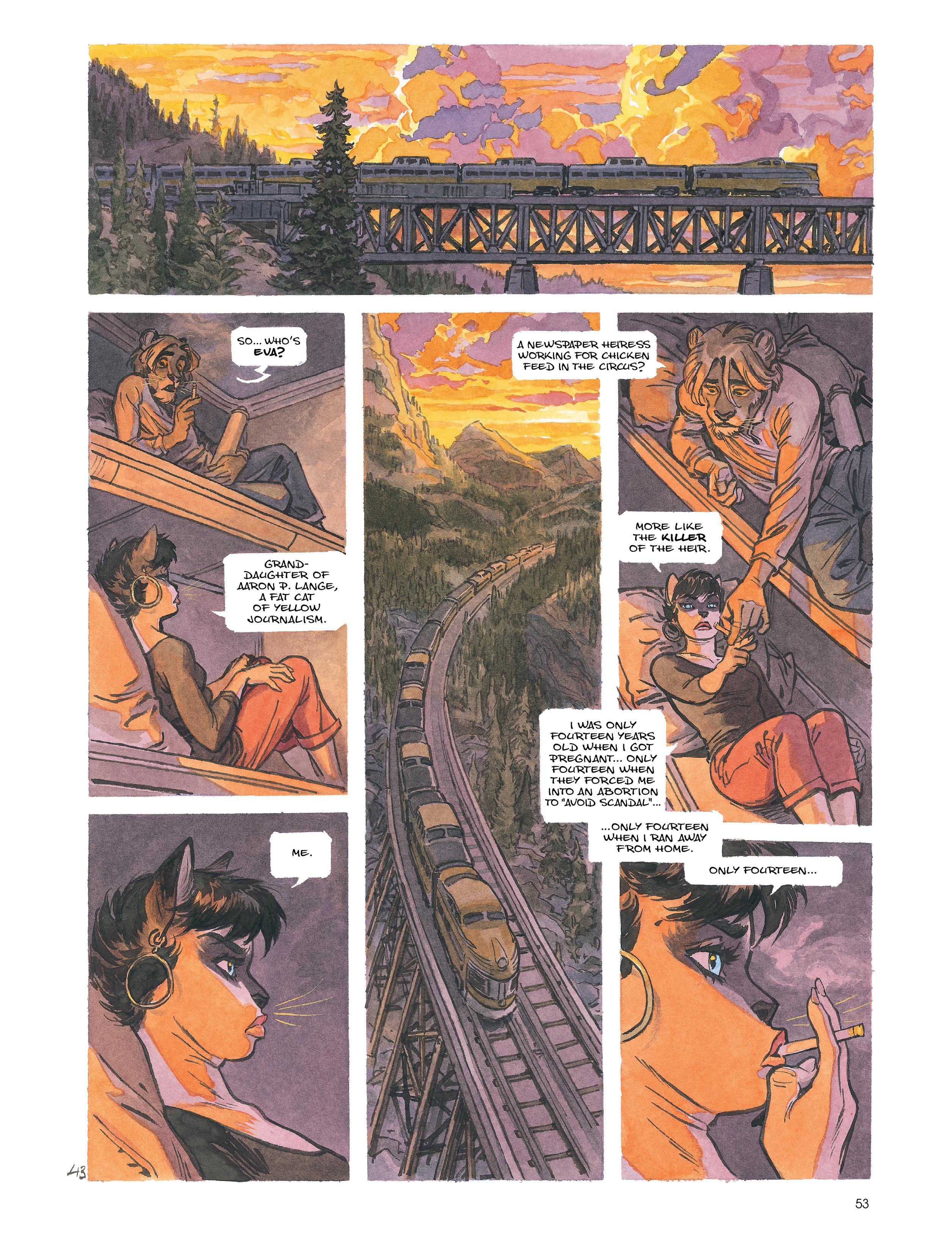 Read online Blacksad: Amarillo comic -  Issue # Full - 52
