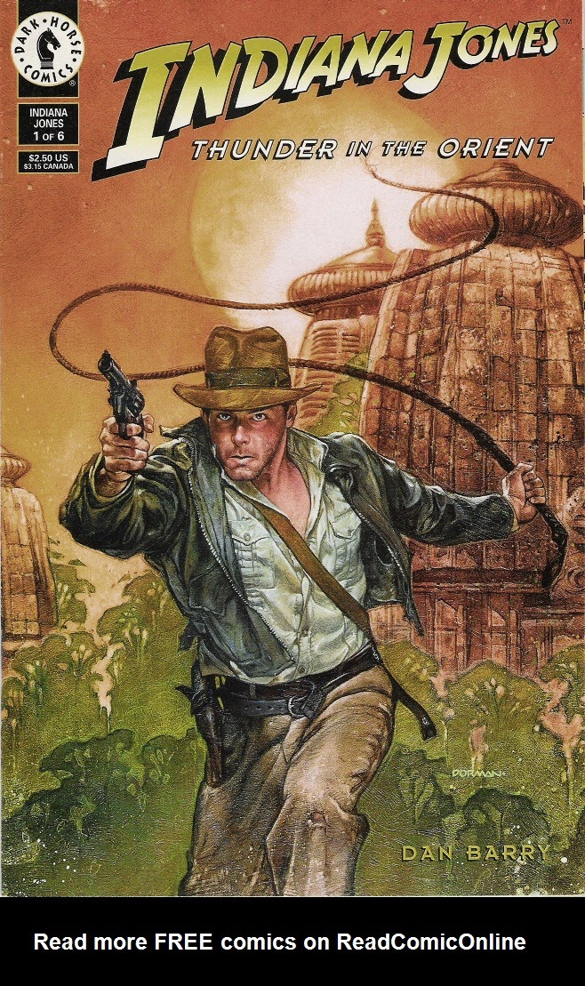 Indiana Jones: Thunder in the Orient 1 Page 1