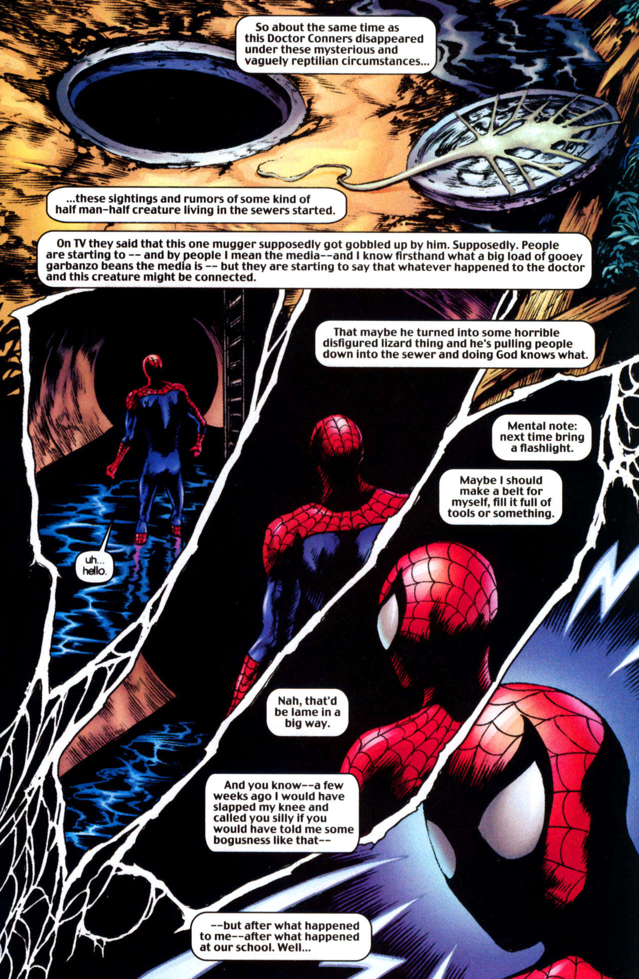 Read online Ultimate Marvel Team-Up comic -  Issue #10 - 20