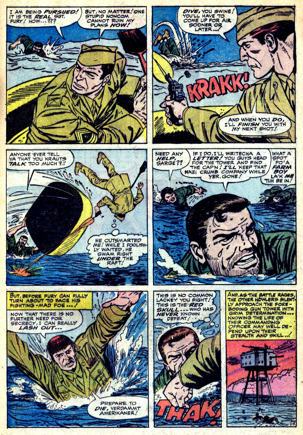 Read online Sgt. Fury comic -  Issue #25 - 21