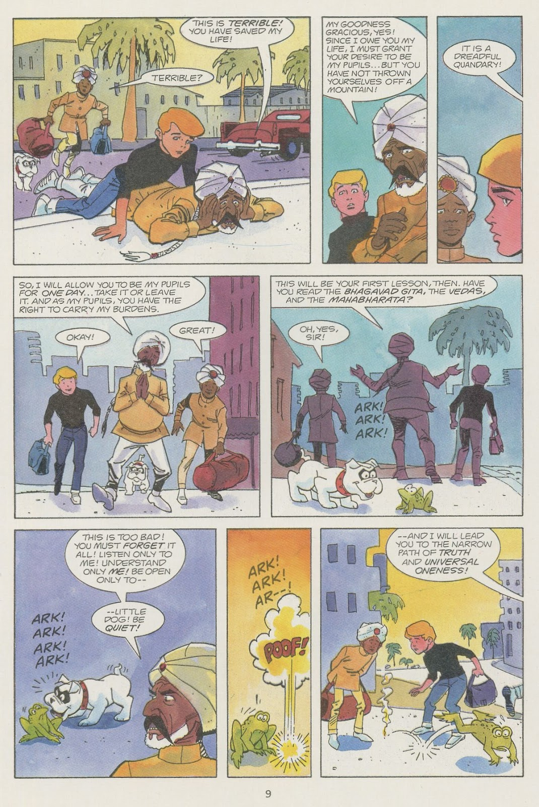 Jonny Quest (1986) issue 19 - Page 11