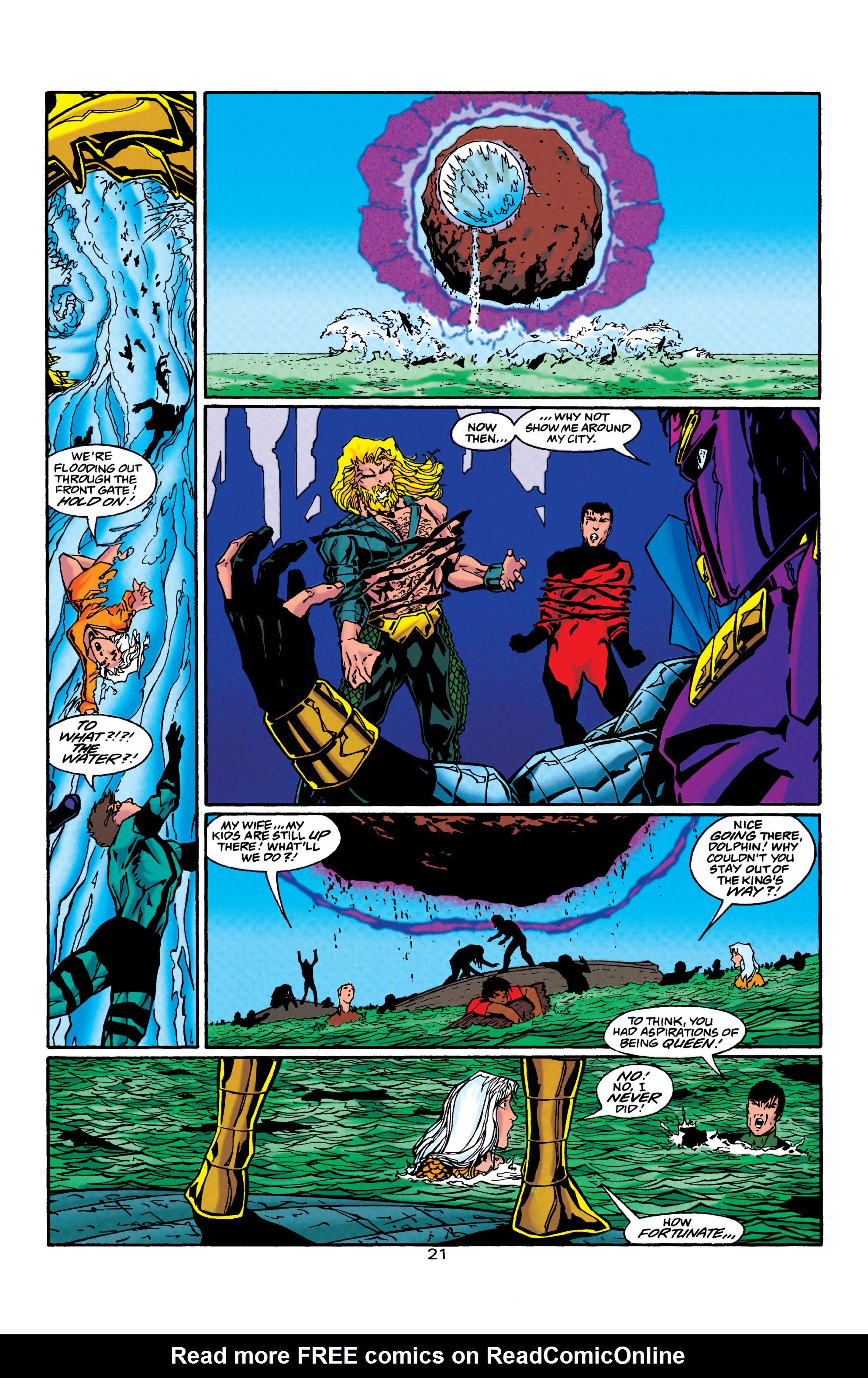 Read online Aquaman (1994) comic -  Issue #40 - 22