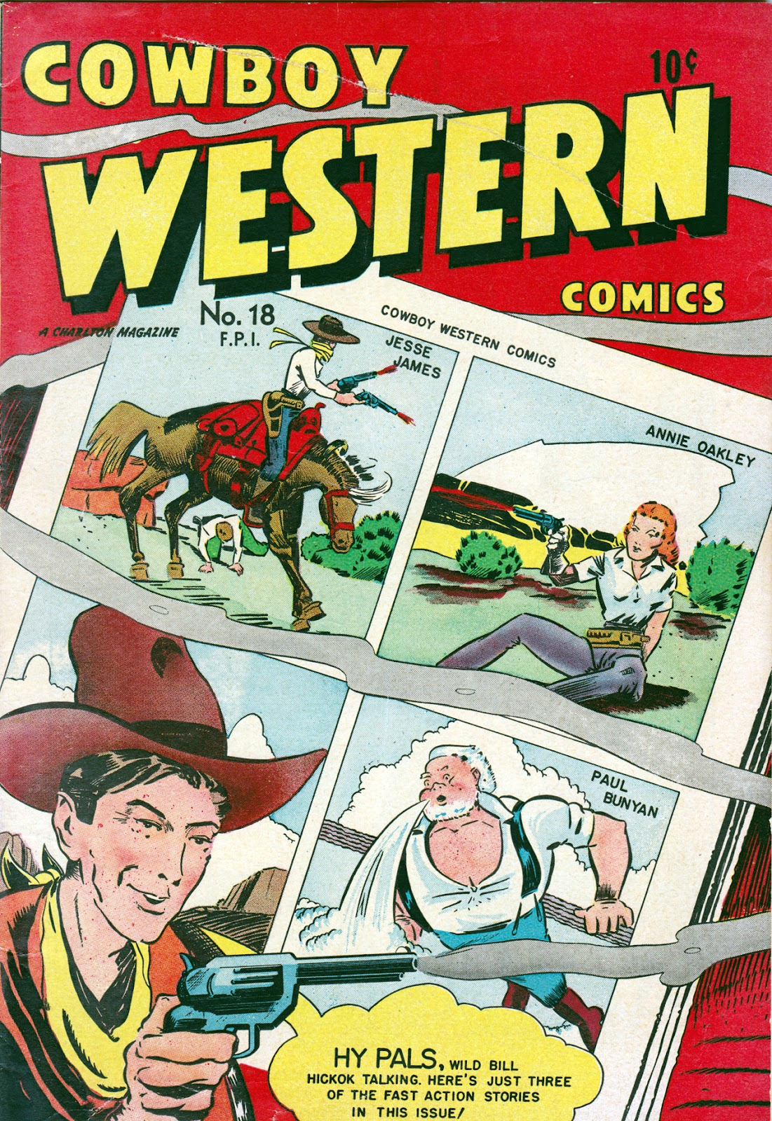 Cowboy Western Comics (1948) issue 18 - Page 1