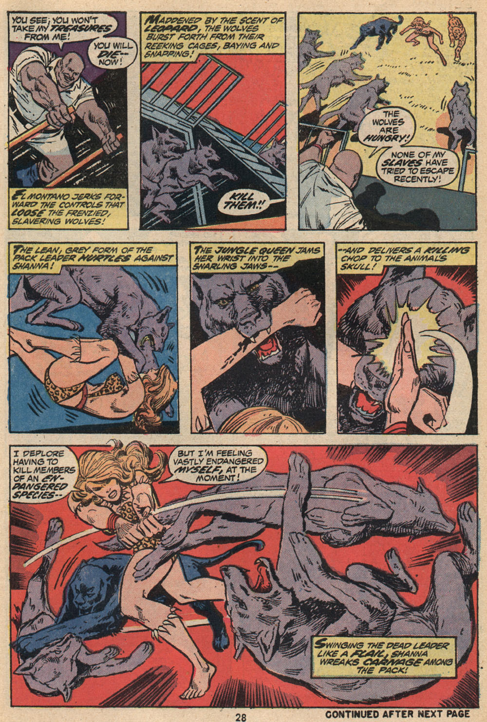 Read online Shanna, the She-Devil (1972) comic -  Issue #2 - 19