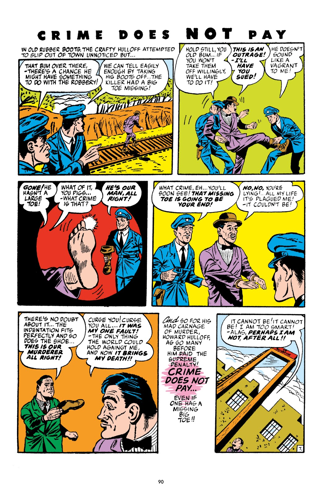 Read online Crime Does Not Pay Archives comic -  Issue # TPB 4 (Part 1) - 90