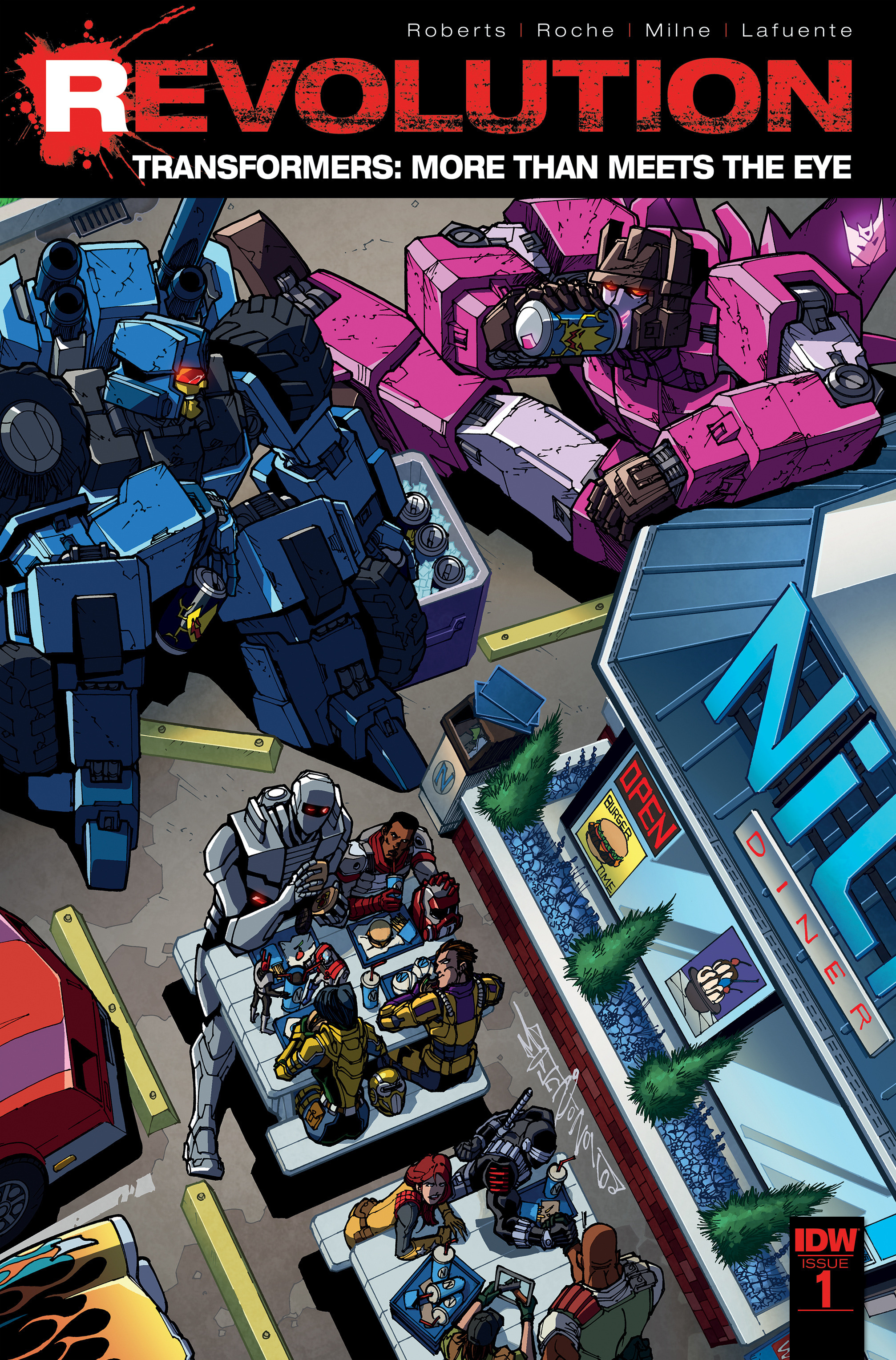 Transformers: More Than Meets The Eye Revolution Full Page 1