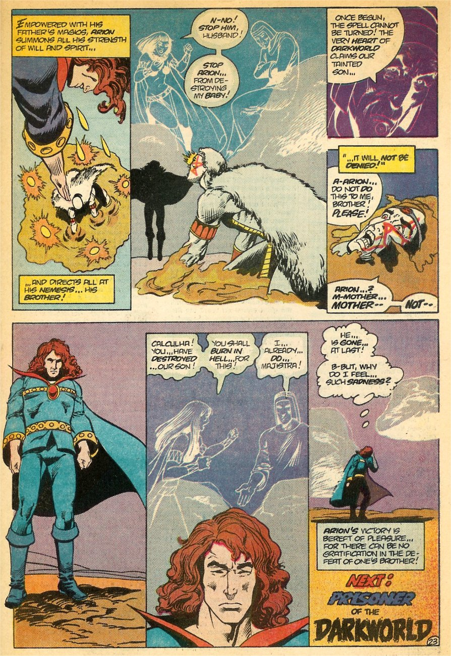 Read online Arion, Lord of Atlantis comic -  Issue #24 - 24