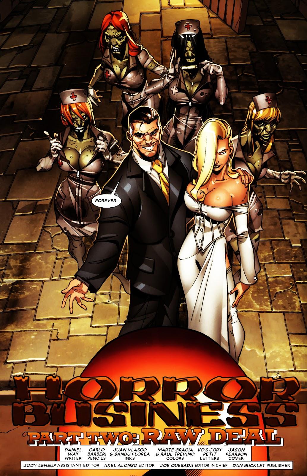 Read online Deadpool (2008) comic -  Issue #5 - 7