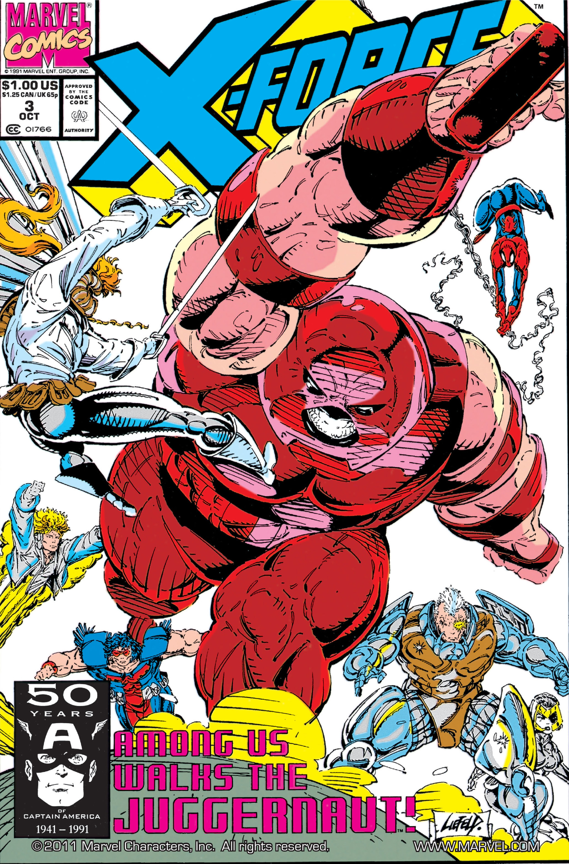 Read online X-Force (1991) comic -  Issue #3 - 1