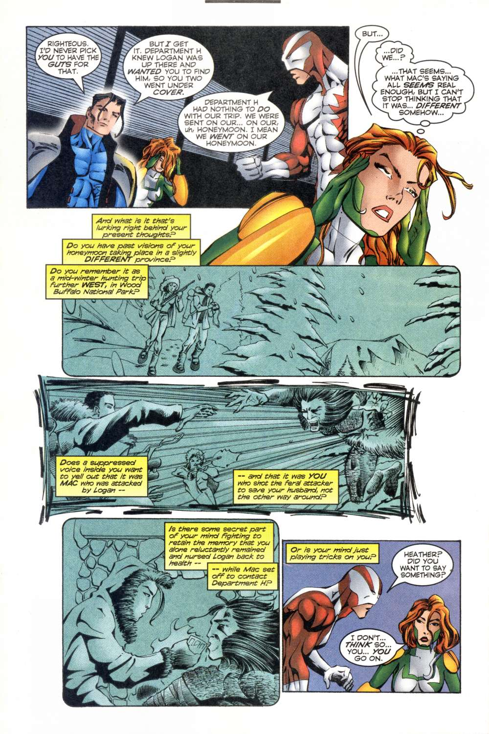 Read online Alpha Flight (1997) comic -  Issue #8 - 18