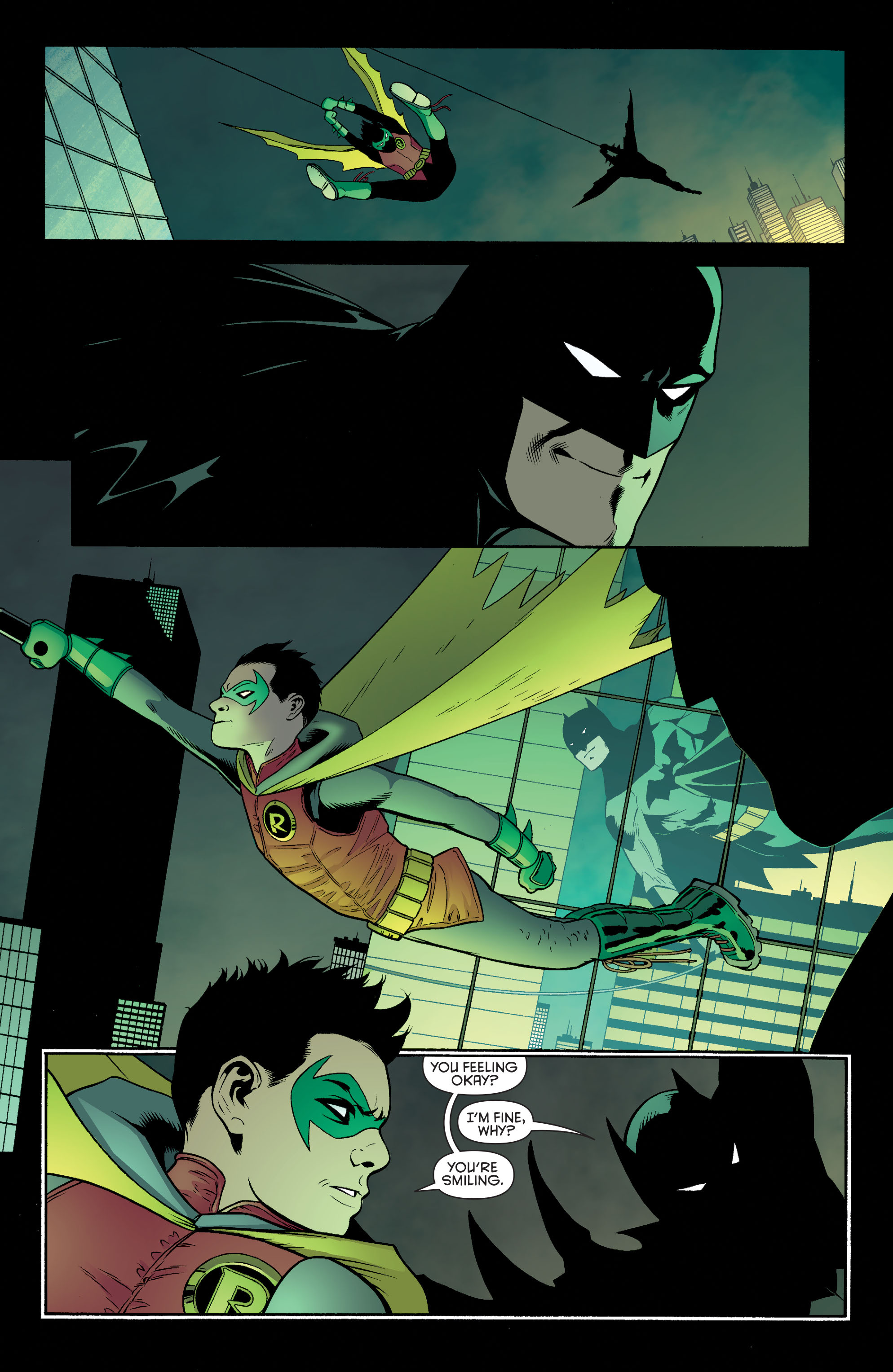 Read online Batman and Robin (2011) comic -  Issue #40 - 17