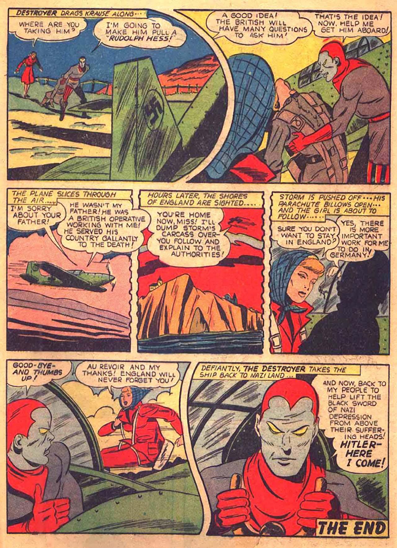 Read online All-Winners Comics comic -  Issue #9 - 50