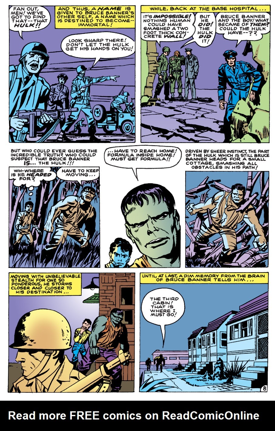 Read online Marvel Masterworks: The Incredible Hulk comic -  Issue # TPB 1 (Part 1) - 11