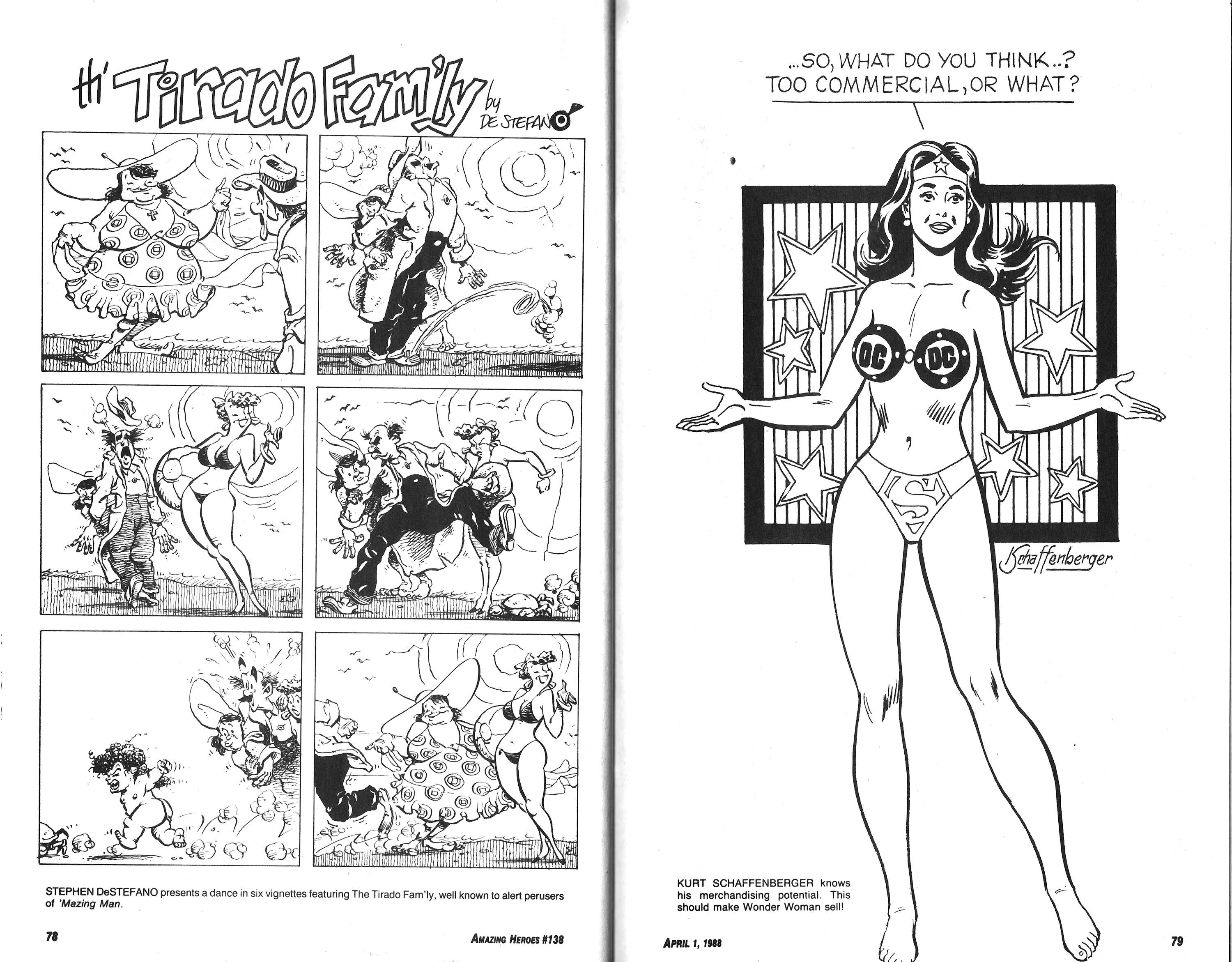 Read online Amazing Heroes comic -  Issue #138 - 40