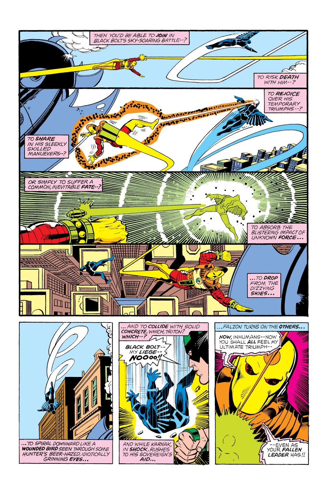 Read online Marvel Masterworks: The Inhumans comic -  Issue # TPB 2 (Part 1) - 70