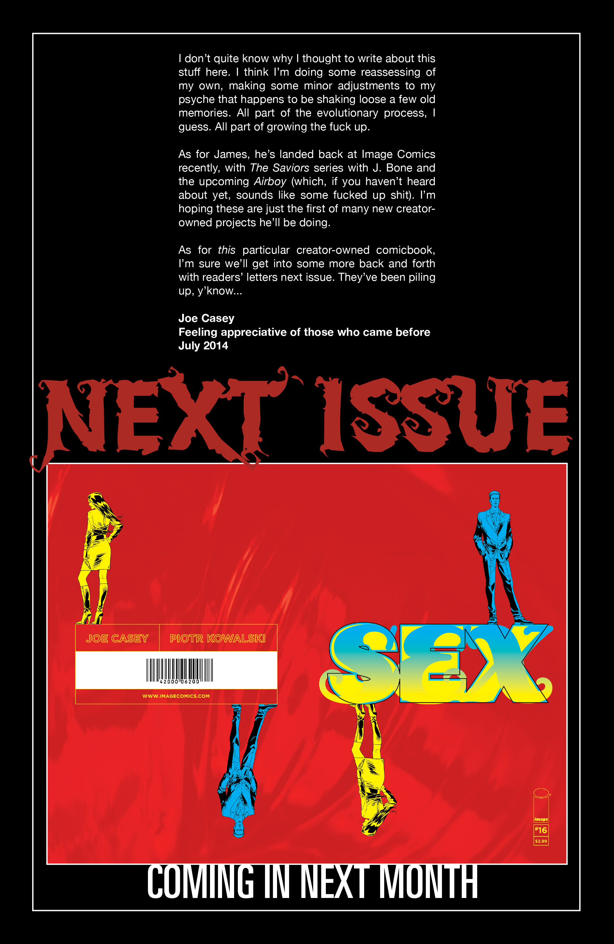 Read online Sex comic -  Issue #15 - 24