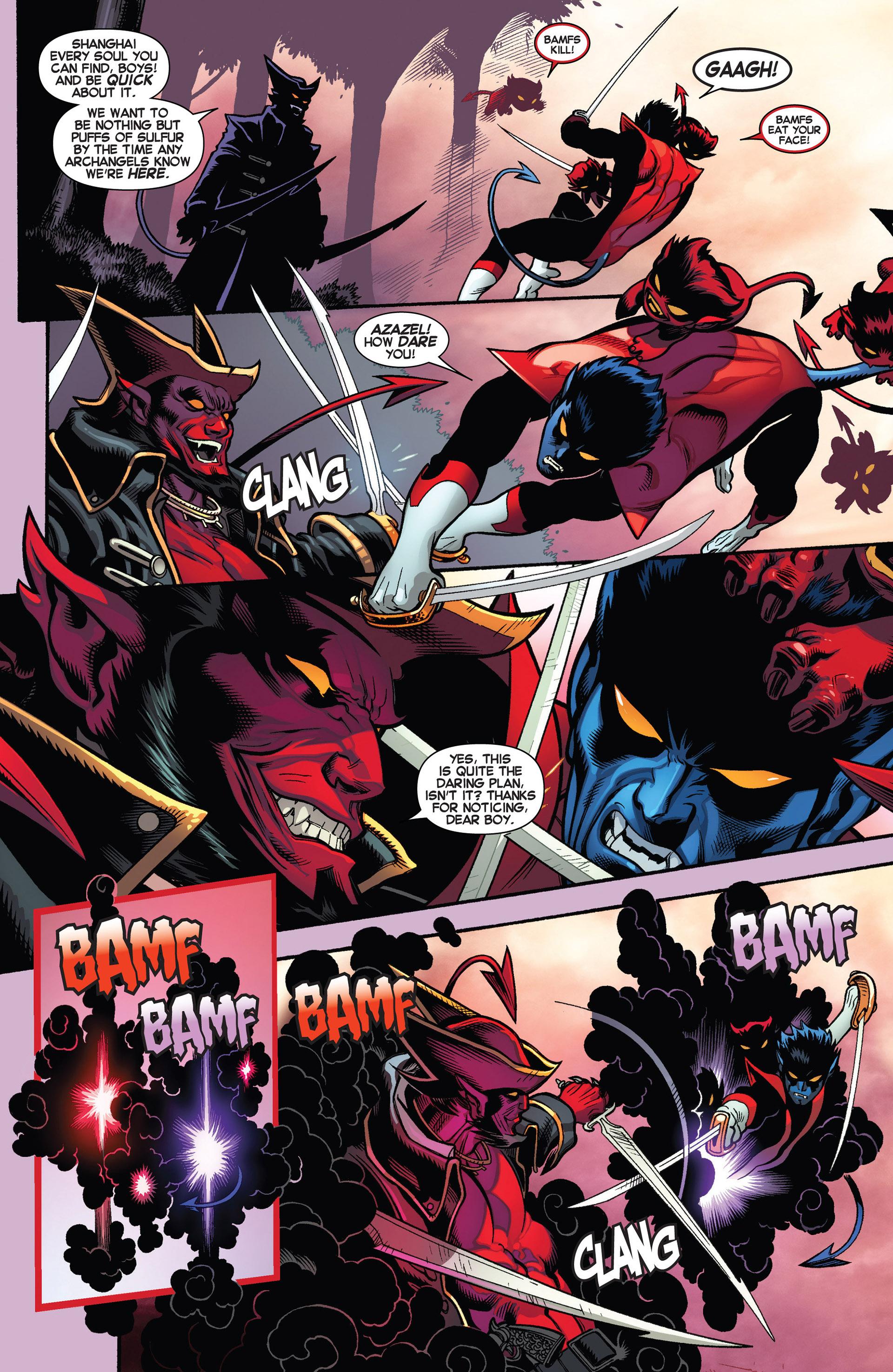 Read online Amazing X-Men (2014) comic -  Issue #1 - 11