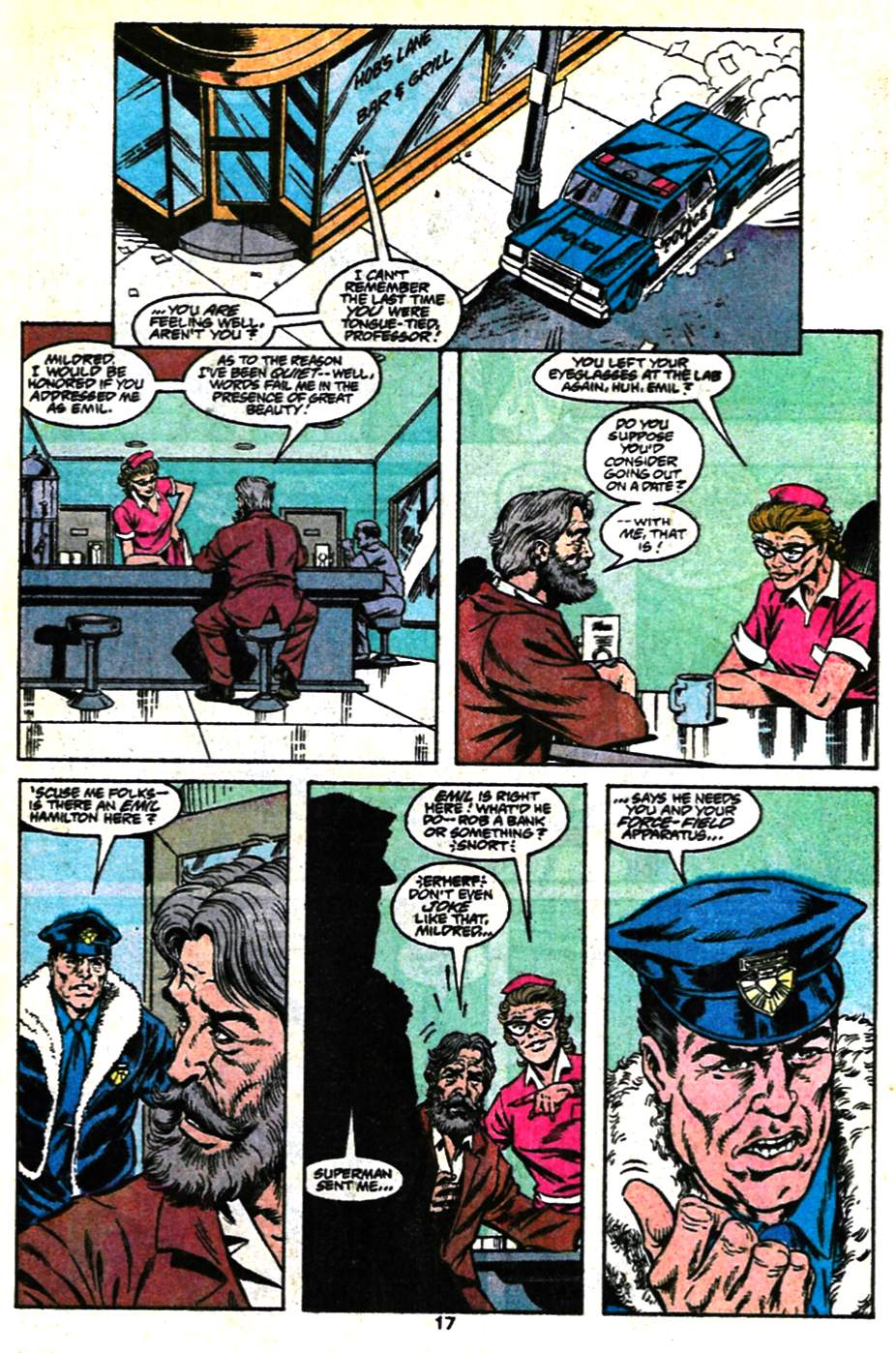 Read online Adventures of Superman (1987) comic -  Issue #482 - 18