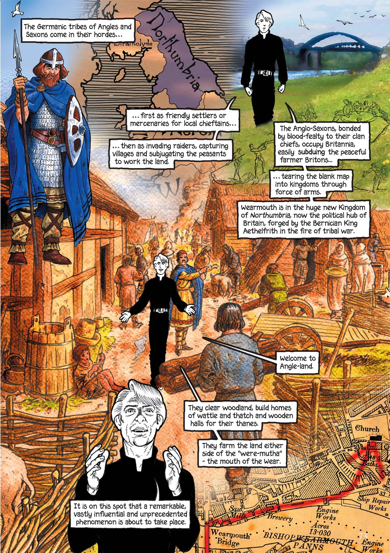 Read online Alice in Sunderland comic -  Issue # Full - 77