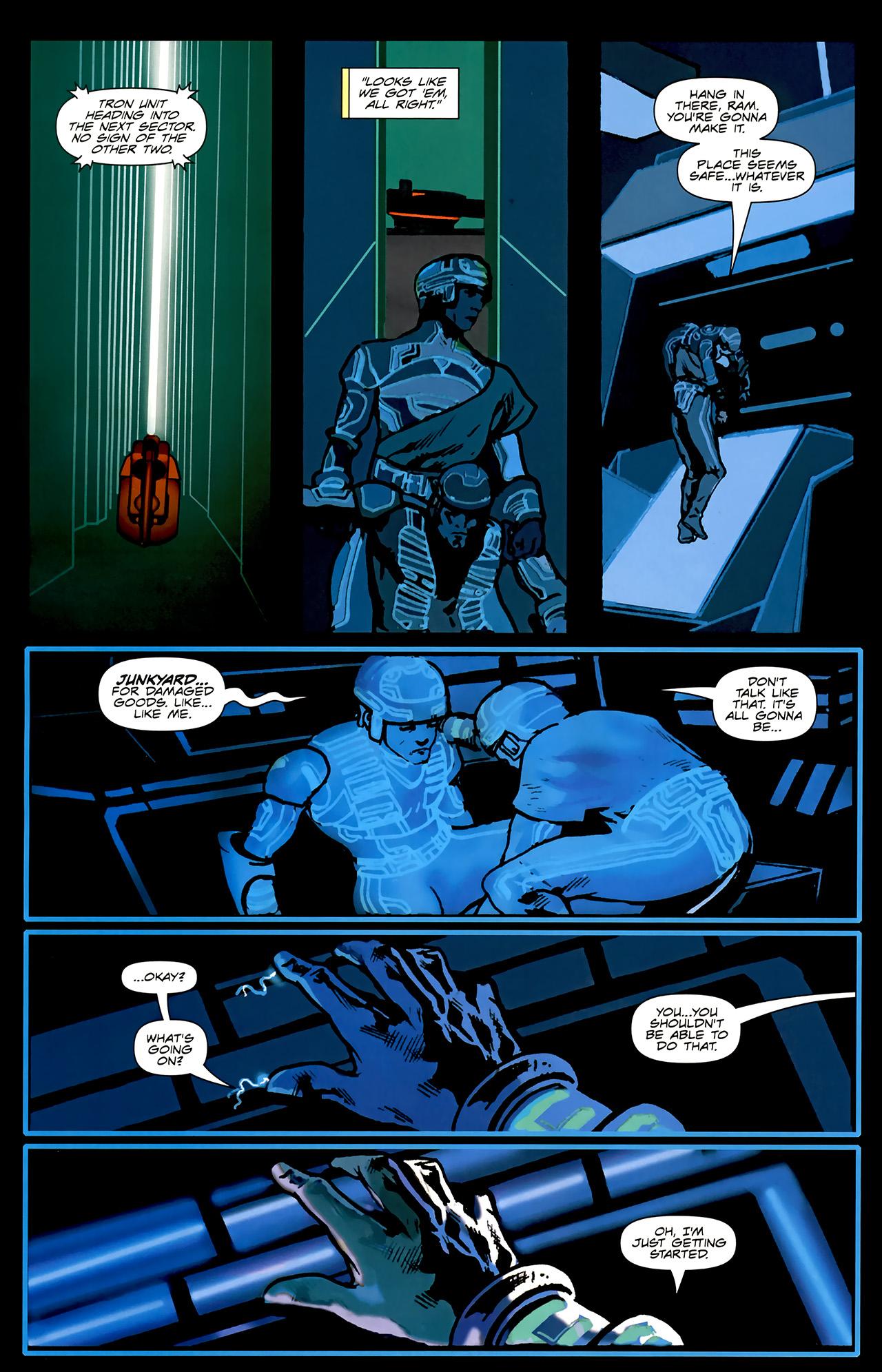 Read online TRON: Original Movie Adaptation comic -  Issue #2 - 13