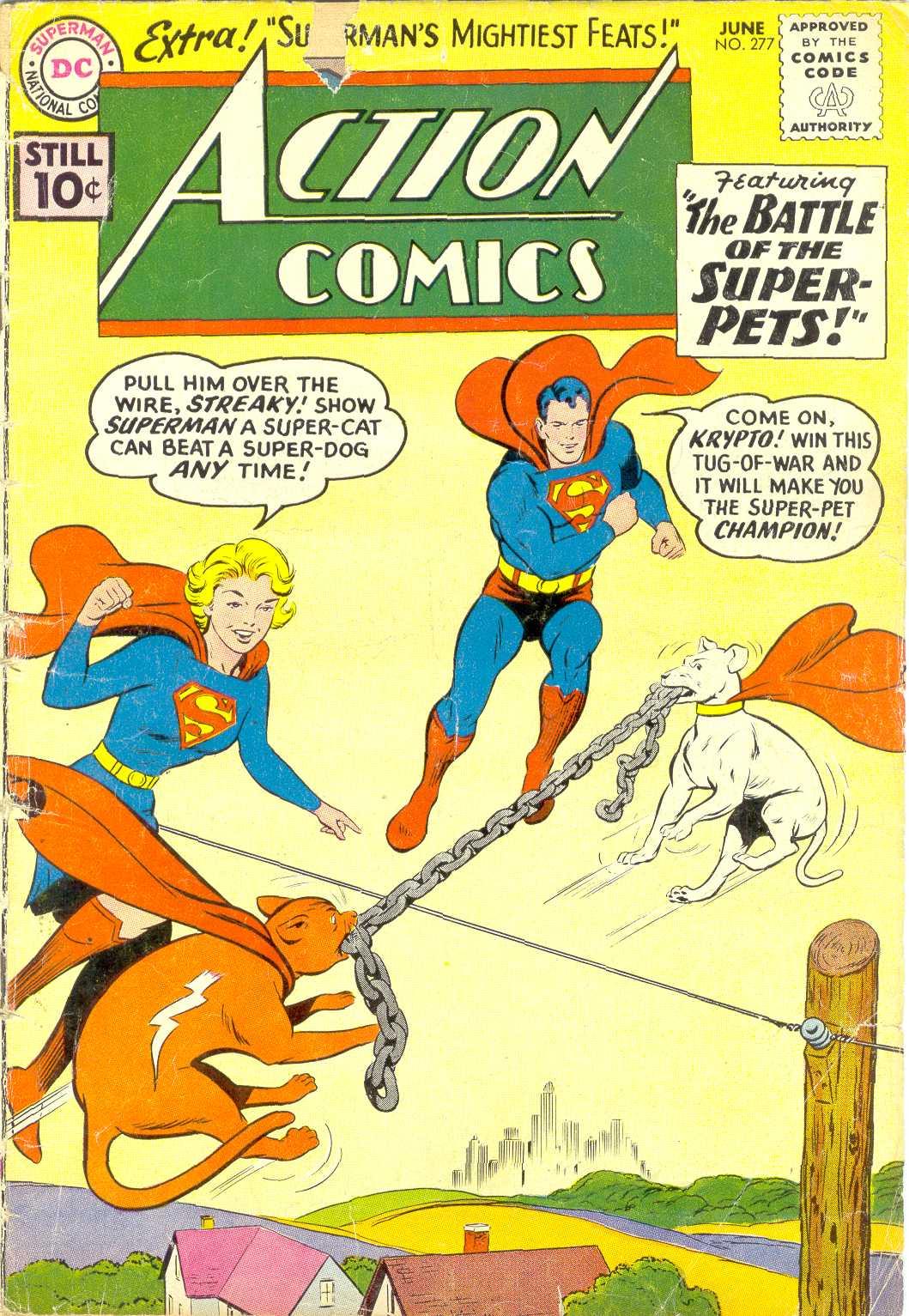 Action Comics (1938) 277 Page 1