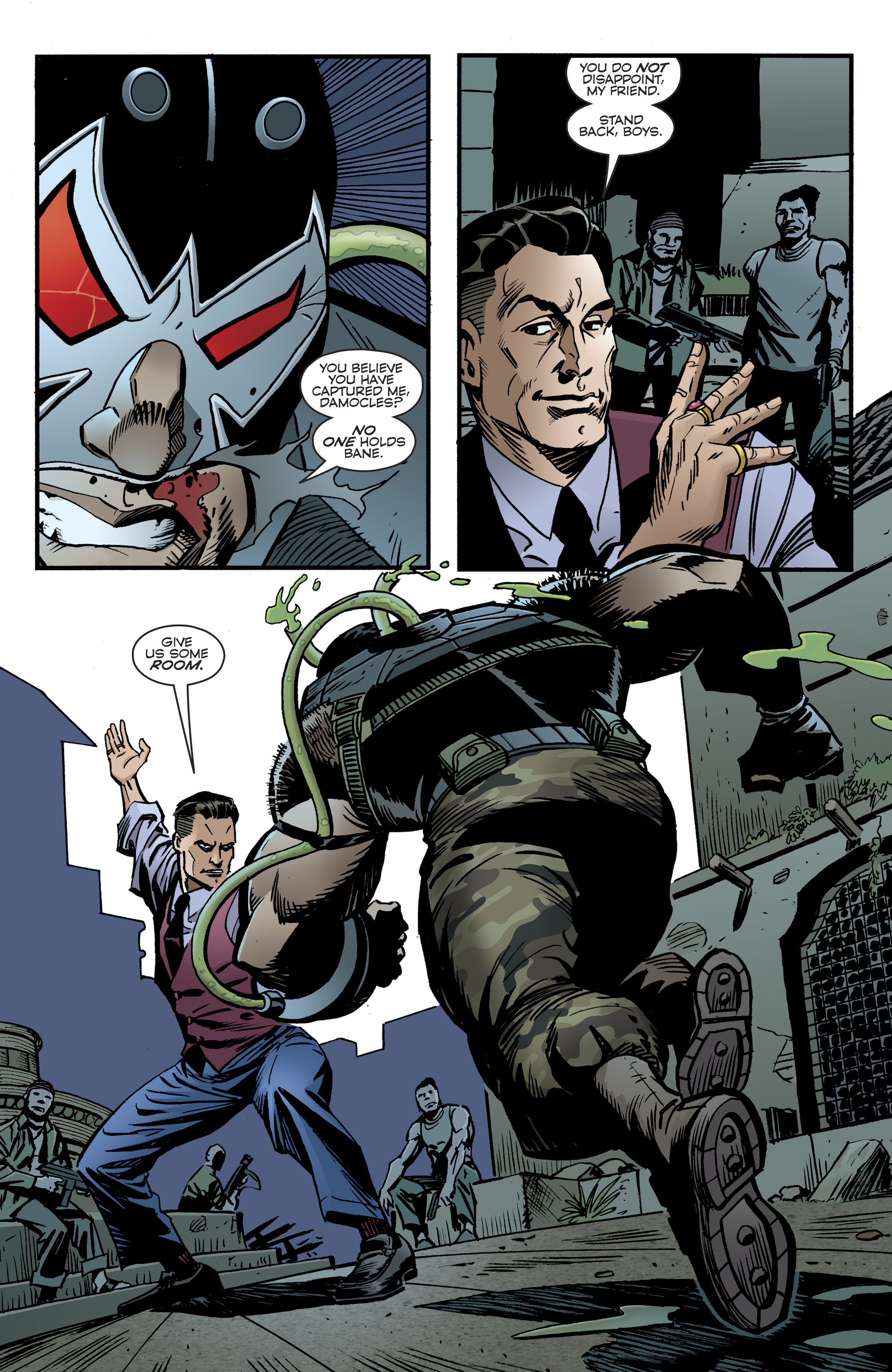 Read online Bane: Conquest comic -  Issue #2 - 3