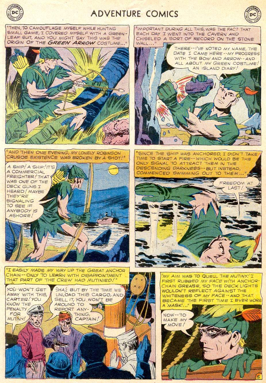 Read online Adventure Comics (1938) comic -  Issue #256 - 30