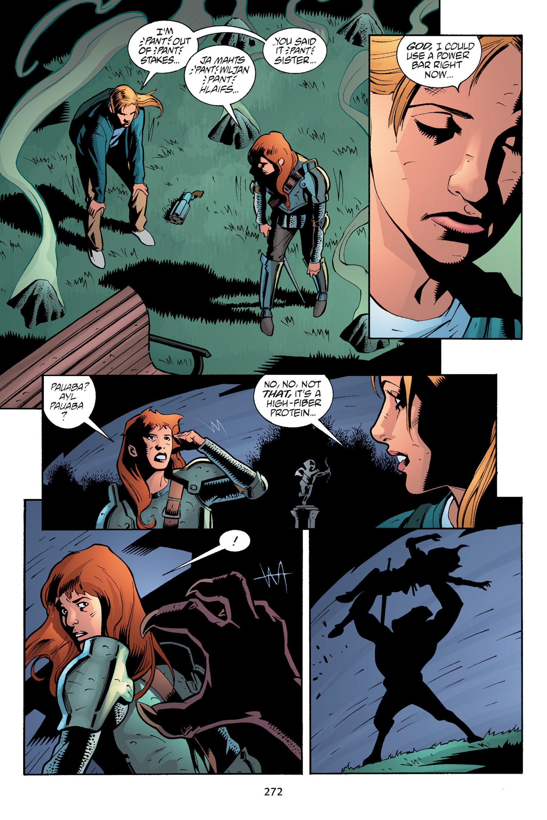 Read online Buffy the Vampire Slayer: Omnibus comic -  Issue # TPB 5 - 271