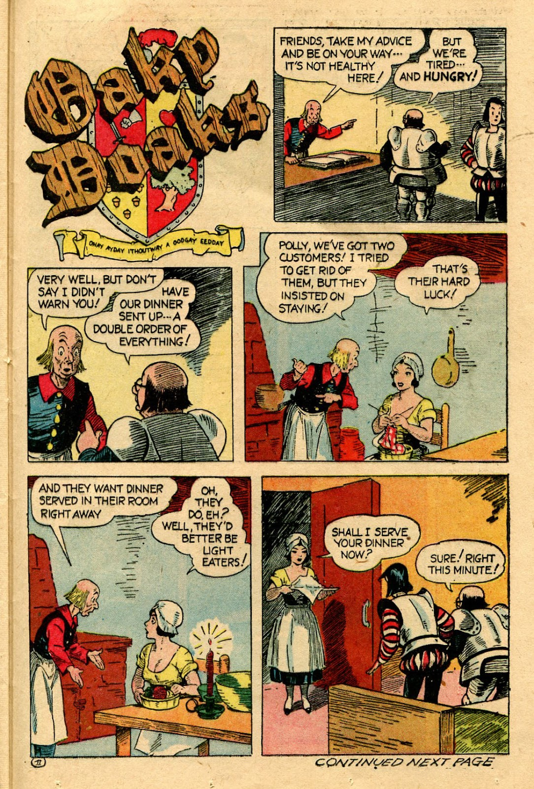Read online Famous Funnies comic -  Issue #116 - 37