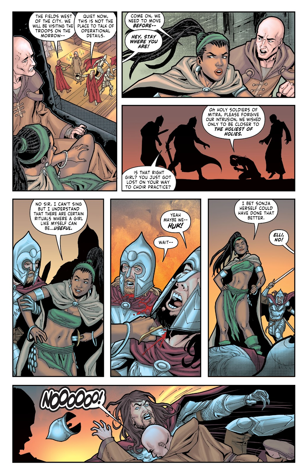 Red Sonja: The Price of Blood issue 2 - Page 22