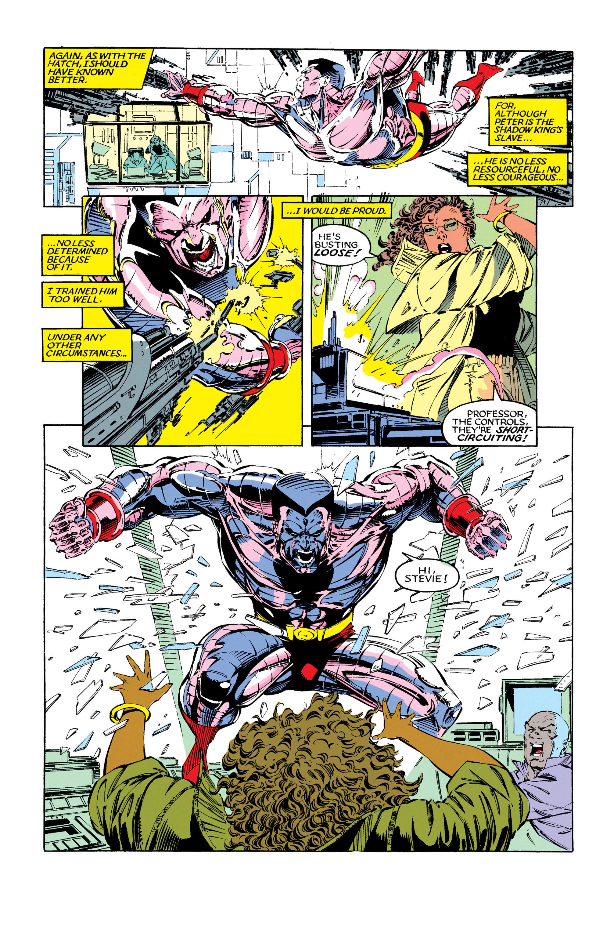 Read online Uncanny X-Men (1963) comic -  Issue #279 - 9
