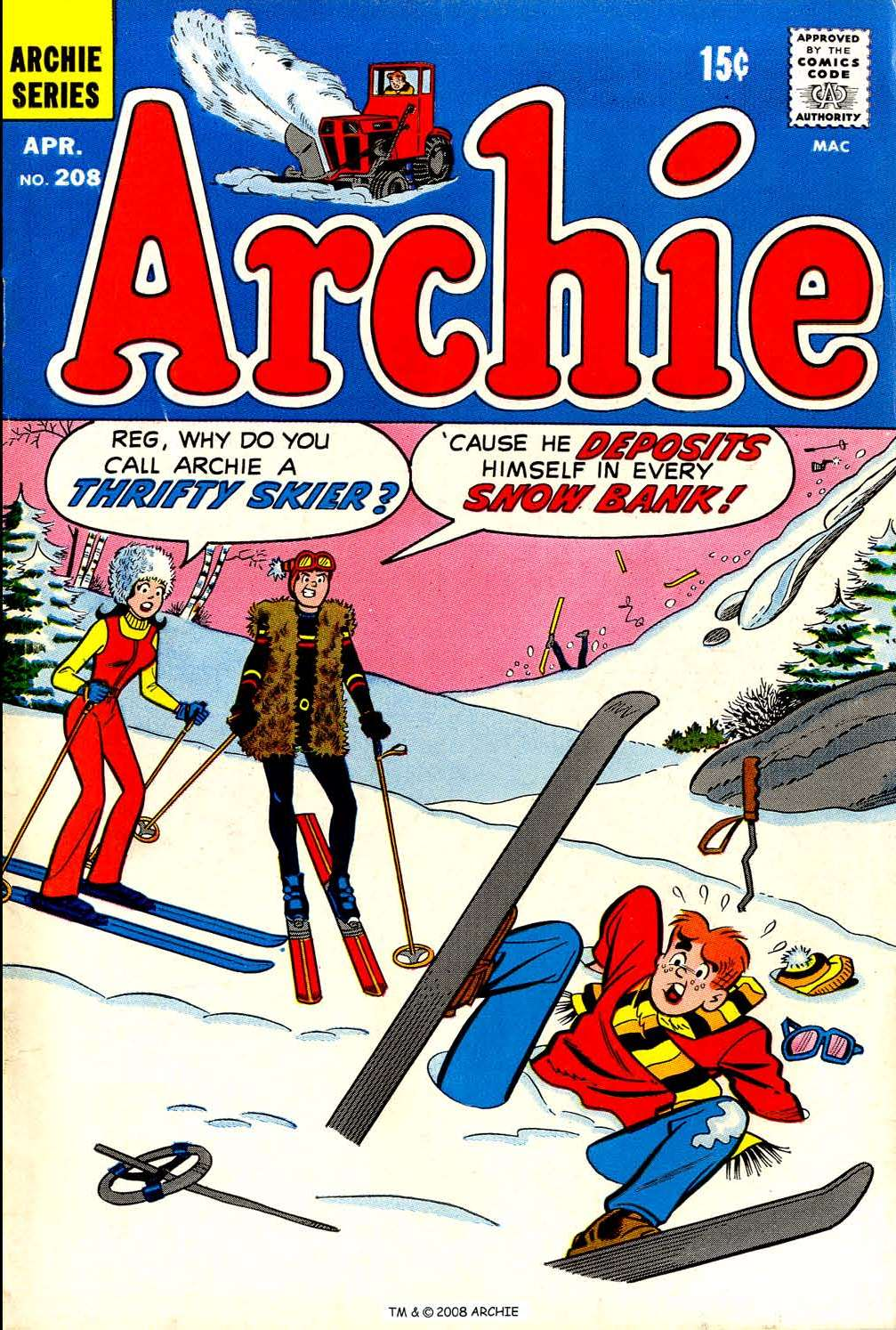 Read online Archie (1960) comic -  Issue #208 - 1