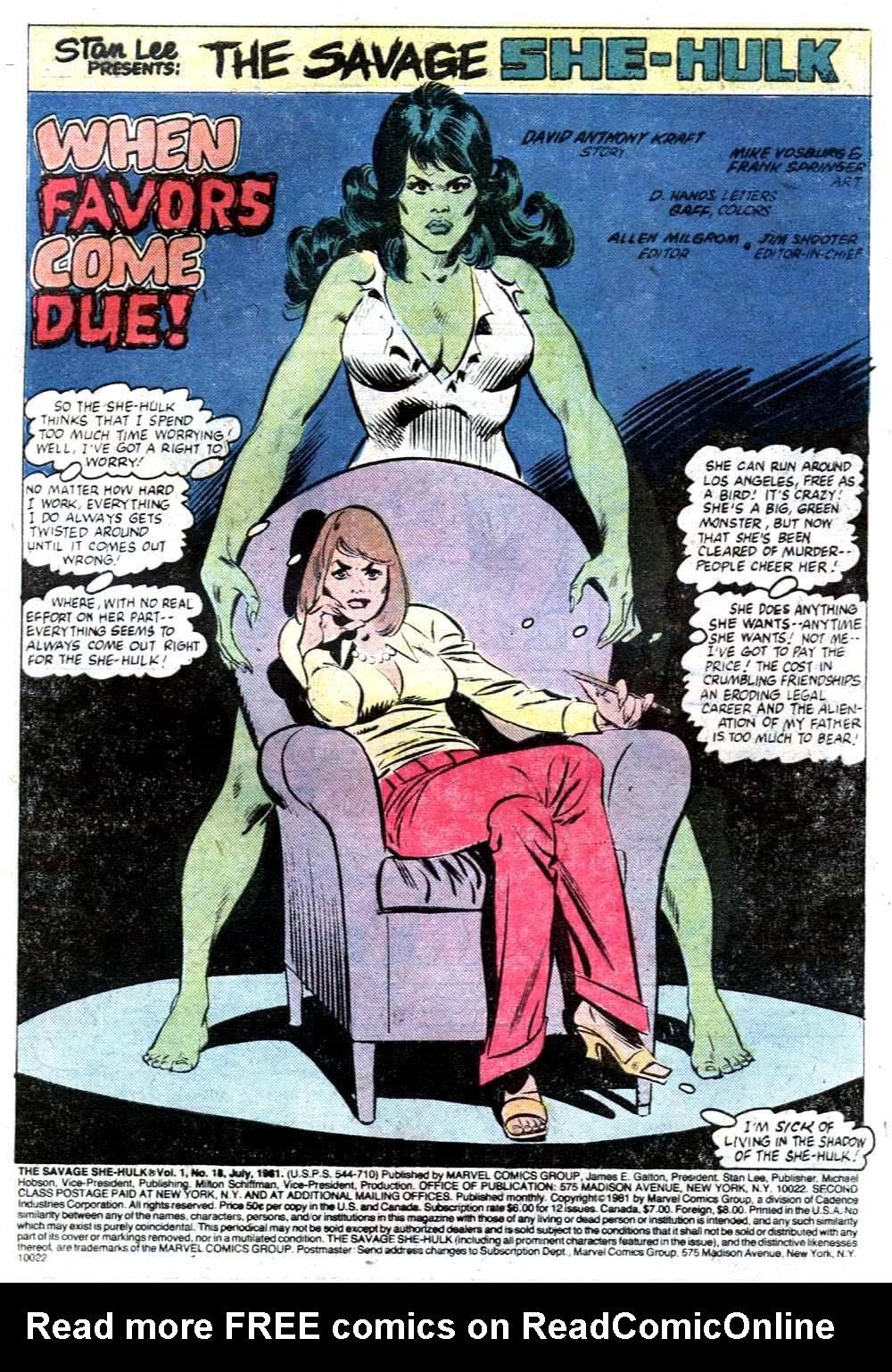 The Savage She-Hulk 18 Page 2