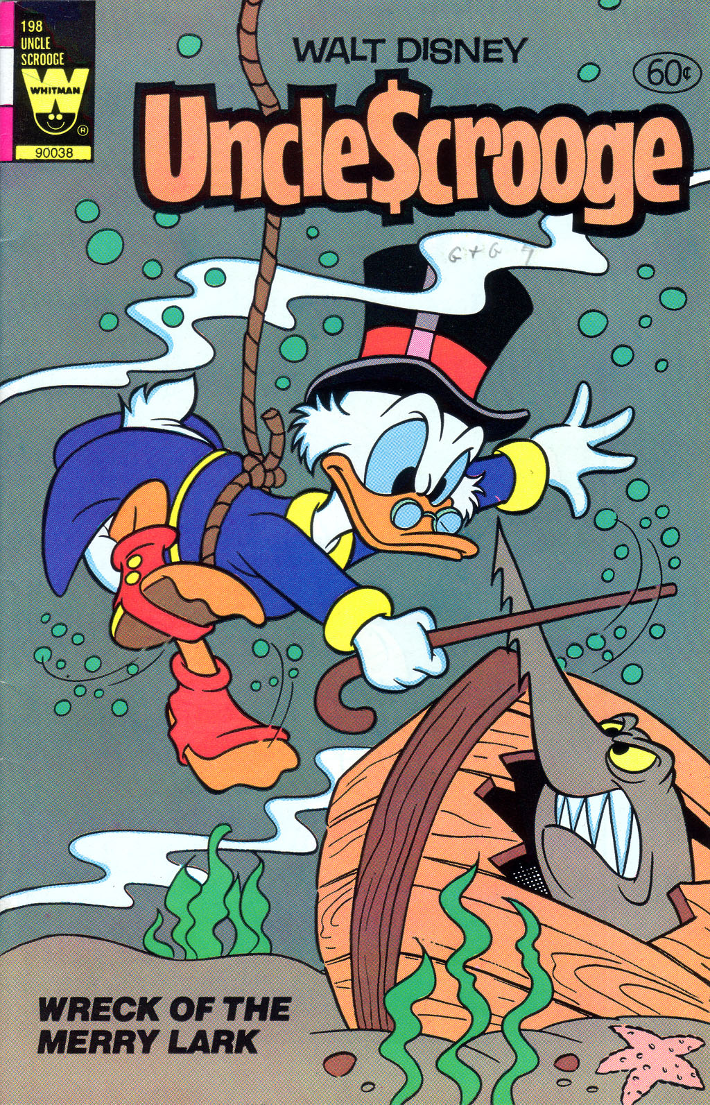 Read online Uncle Scrooge (1953) comic -  Issue #198 - 1