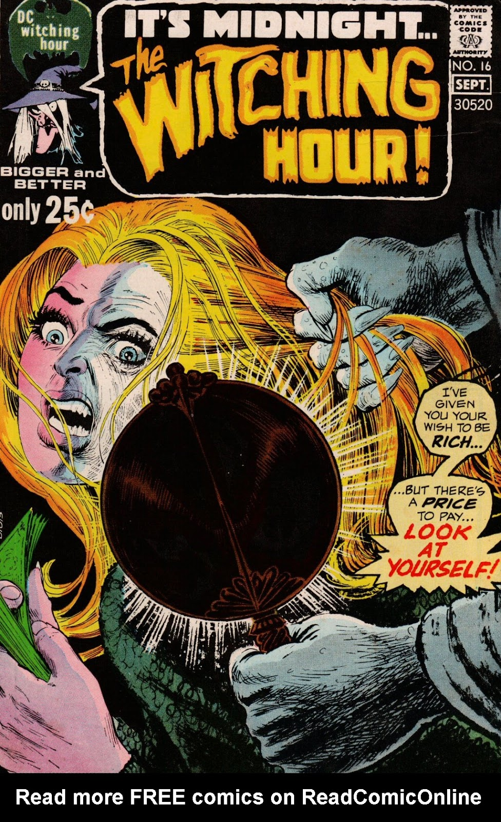 The Witching Hour (1969) issue 16 - Page 1