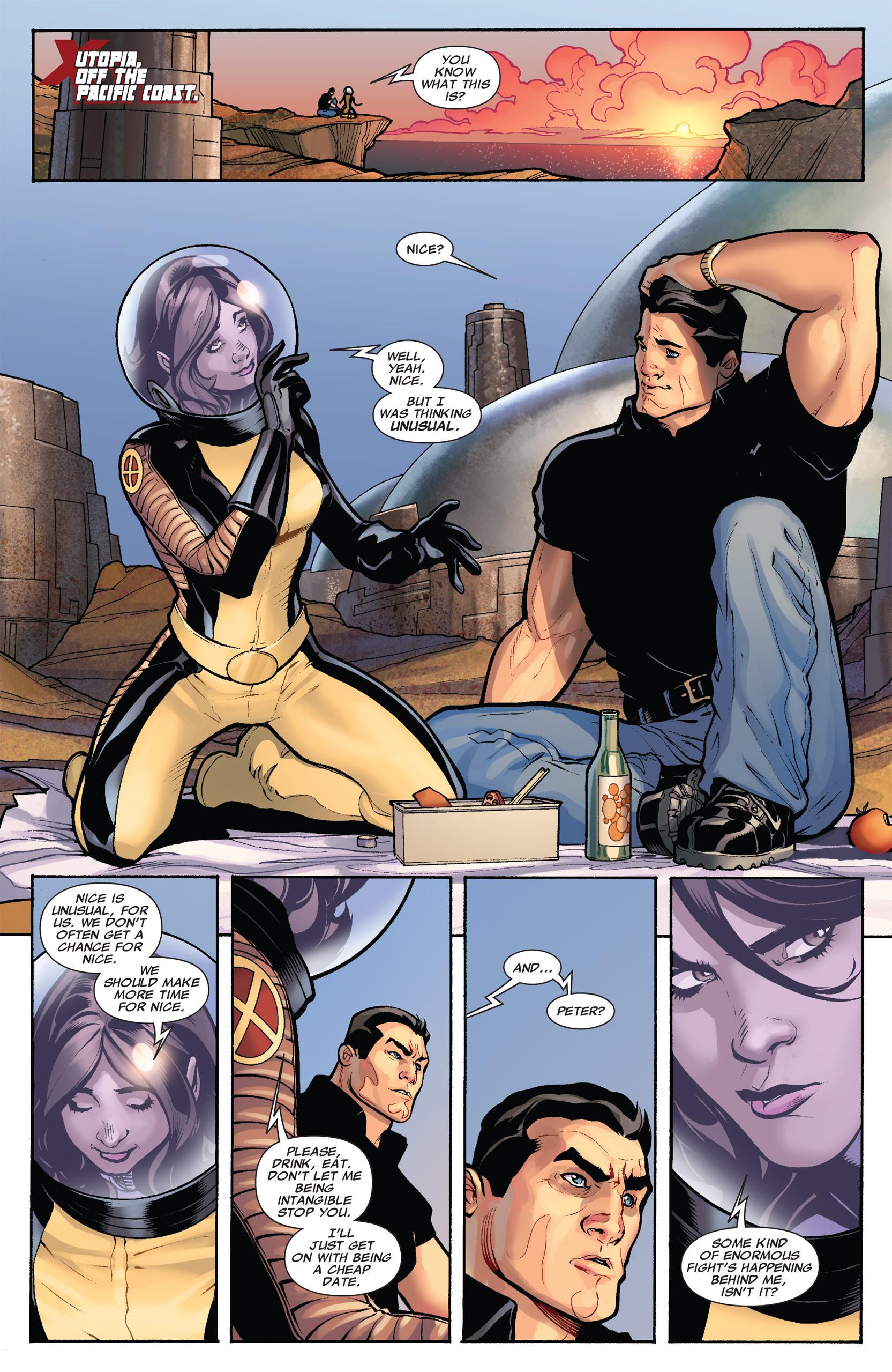 Read online Uncanny X-Men (1963) comic -  Issue #535 - 3